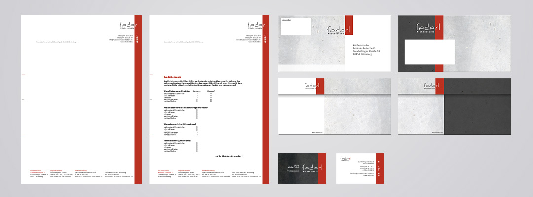 federl stationary design