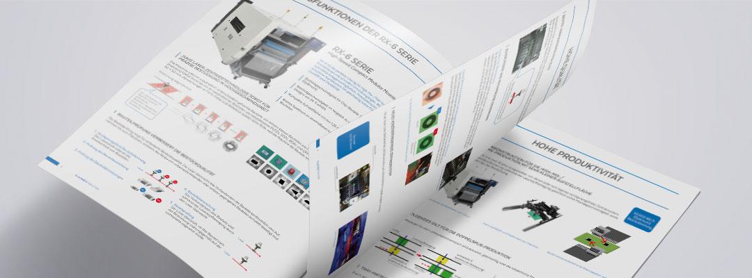 juki broschüren